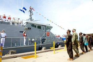 EEUU entregó un buque de patrulla costera a El Salvador para combatir el narcotráfico