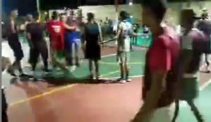 Sujeto agredió a un árbitro en Anzoátegui, provocándole contusión cerebral (VIDEO)