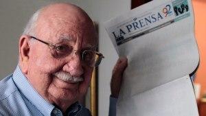 Fallece Jaime Chamorro Cardenal, presidente del diario La Prensa de Nicaragua