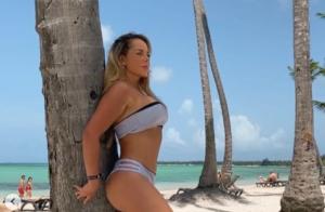 ¿Le creemos que tiene casi 50? Las sensuales fotos en bikini de Roxana Díaz