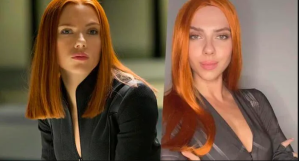 La doble de Scarlett Johansson es TAN parecida a ella que no sabemos quién está más buena (VIDEO)