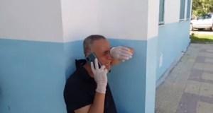 El llanto del director de un hospital en Túnez ante la falta de oxígeno para sus pacientes (VIDEO)