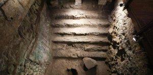 Hallaron pasadizos y vestíbulos del segundo templo de Jerusalén cerca del Muro de los Lamentos