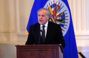Almagro enfatizó que el sistema interamericano tiene mucho que aportar en la lucha contra la trata de personas