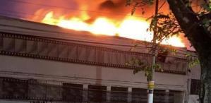 En Imágenes: Incendio destruyó galpón de la Cinemateca Brasileña con 2 mil copias de filmes