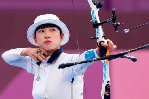 Con 20 años logró el triple oro olímpico en tiro con arco… pero en su país la critican por su cabello