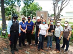 Realizaron jornada de recuperación a la Escuela de Ciencias de la Salud de la UDO Bolívar