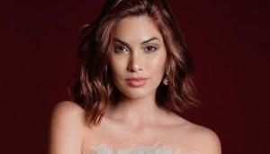 Miss Universo 2013, María Gabriela Isler mostró lo avanzado que va su embarazo