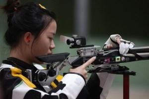 En los Juegos Olímpicos de la pandemia el primer oro es para China