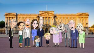 """""""The Prince"""": La serie animada que se burla de la vida en el Palacio de Buckingham (VIDEO)"""