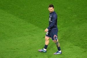 Messi titular con el PSG contra el Manchester City en Champions