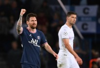 Messi marcó ante el Manchester City su primer GOLAZO con el PSG (Video)