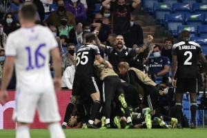 ¡Sorpresa en Champions! Real Madrid cayó ante el modesto Sheriff moldavo