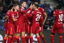 Liverpool goleó al Oporto y es líder en su grupo de la Champions