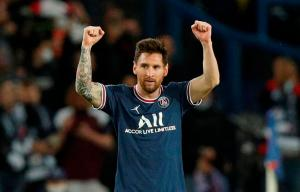 Messi remató la victoria del PSG pese al constante asedio del Manchester City