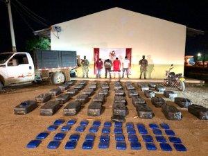 Ejército colombiano incautó más de media tonelada de droga en una trocha de La Guajira