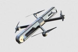 Un dron suicida plantea un inquietante futuro: Tú apuntas, él explota donde digas