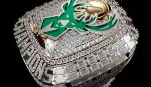 Con más de 300 diamantes y dos detalles nunca vistos: El anillo de Milwaukee Bucks por el título NBA