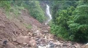 ¡Incomunicados! Colapsó el único acceso a las aldeas del Parque Chorro del Indio en San Cristóbal (FOTOS)