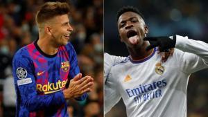 Real Madrid y Barcelona, a distinto ritmo para el Clásico: ¿Quién llega mejor?